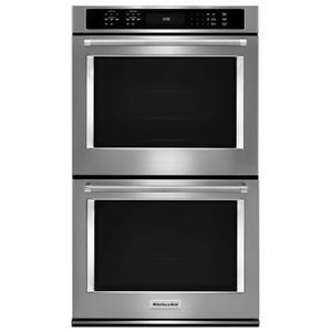 """30"""" Double Wall Oven with Even-Heat™ True Convection - Stainless Steel Product Image"""