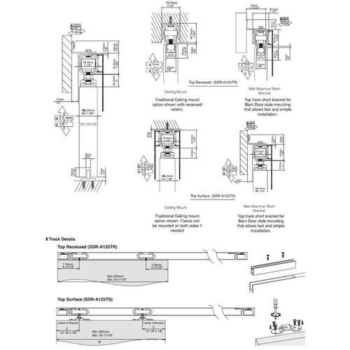 Sugatsune - Synchronized Sliding Door Hardware