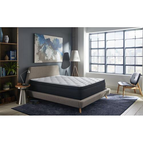 "NightsBridge 15"" Plush Pillow Top Mattress, Twin"