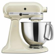 See Details - Artisan® Series 5 Quart Tilt-Head Stand Mixer - Almond Cream