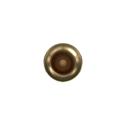 Howard Elliott - Oversized Flared Gold Aluminum Vase, Small