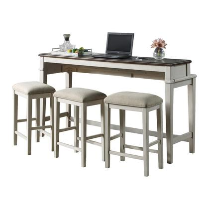 See Details - 4-Piece Pack Console Counter Height Set