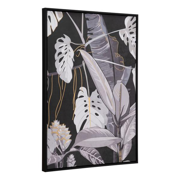 See Details - Contrast Fauna Canvas Wall Art Multicolor
