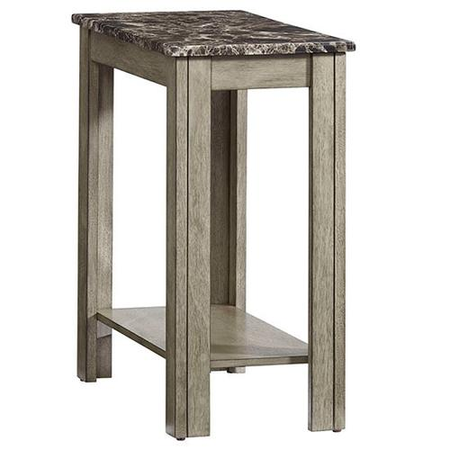 Chairside Table - Gray Finish