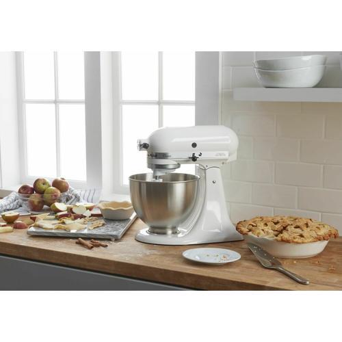 KitchenAid - Classic™ Series 4.5 Quart Tilt-Head Stand Mixer - White