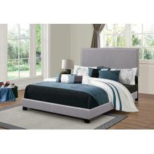 Product Image - Boyd Upholstered Grey Twin Bed