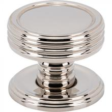 View Product - Divina Knob 1 Inch Polished Nickel Polished Nickel
