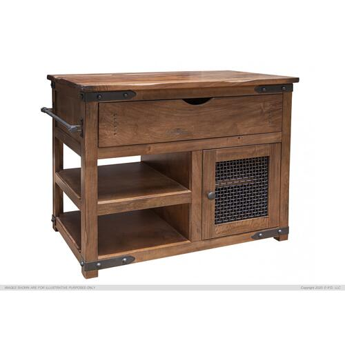 1 Drawer, 1 Door Kitchen Island