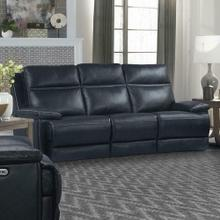 See Details - PAXTON - NAVY Power Sofa