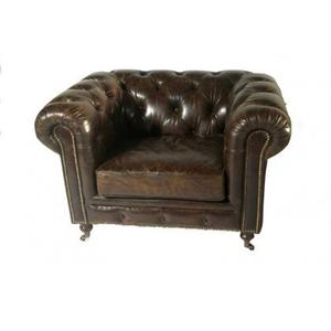 1 Seater Chesterfield Sofa