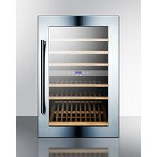 51 Bottle Fully Integrated Dual Zone Commercial Wine Cellar Designed for the Display and Refrigeration of Beverages, With Digital Controls and LED Lighting