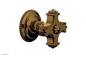 MARVELLE Volume Control/Diverter Trim - Blade Handle 162-35 - French Brass Product Image