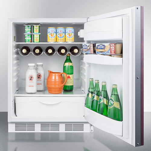 """Product Image - 24"""" Wide Built-in All-refrigerator"""