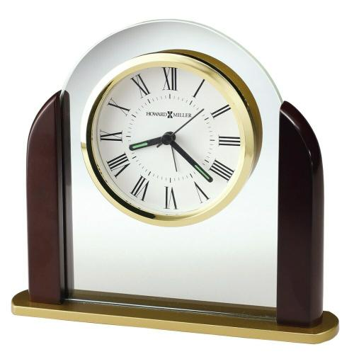 Howard Miller Derrick Wooden Alarm & Table Clock 645602