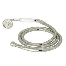 Inclined Handshower and Hose - Polished Chrome