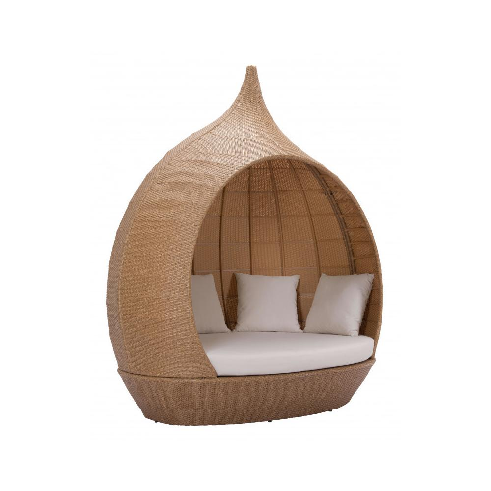 See Details - St Lucia Beach Daybed Beige & Natural
