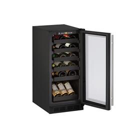 "15"" Wine Refrigerator With Stainless Frame Finish (115 V/60 Hz Volts /60 Hz Hz)"