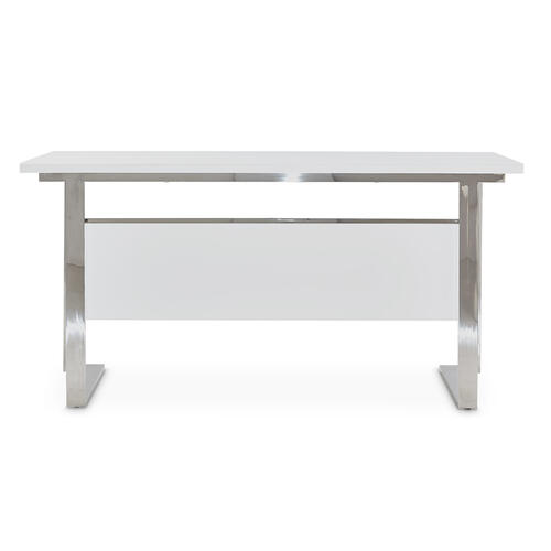 Rectangular Desk Glossy White