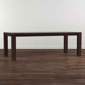 "Bench*Made Oak 90"" Rectangular Dining Table"
