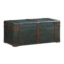 Cocktail Trunk - Navy Blue Finish
