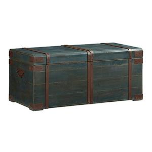 Progressive Furniture - Cocktail Trunk - Navy Blue Finish
