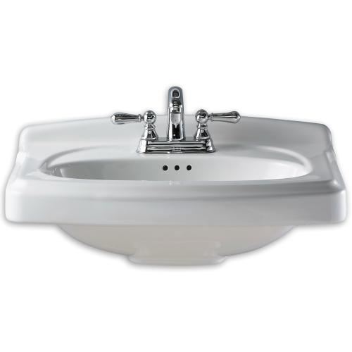 American Standard - Portsmouth China Vanity Top - White