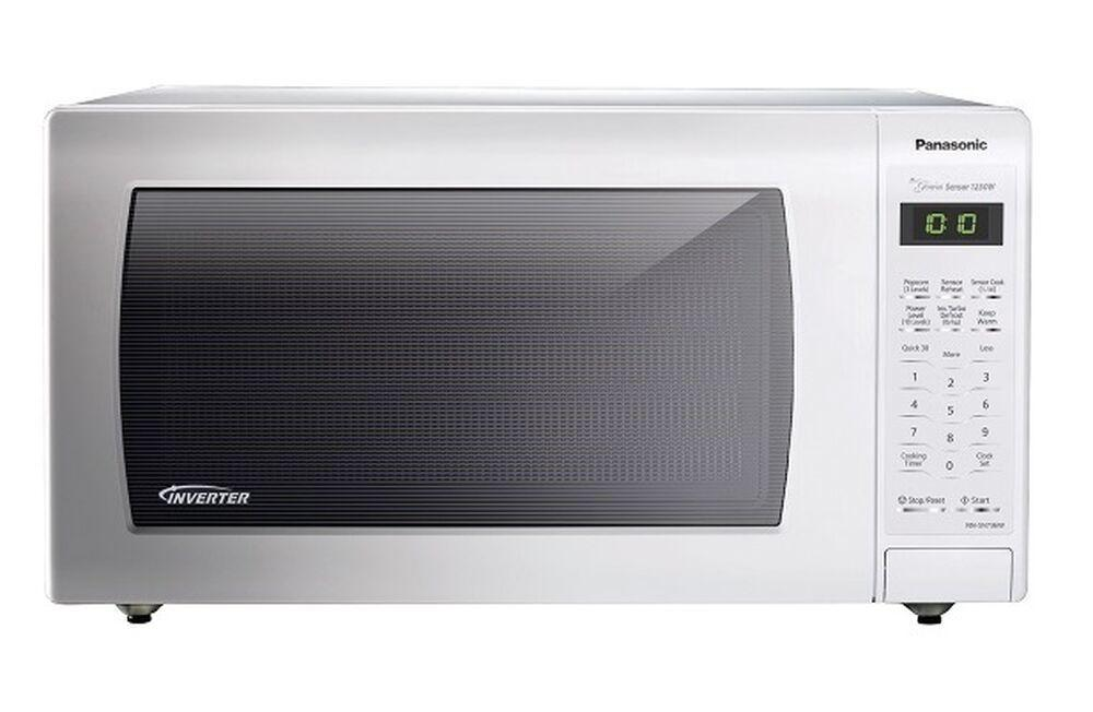 Panasonic1.6 Cu. Ft. Countertop Microwave Oven With Inverter Technology - White - Nn-Sn763w