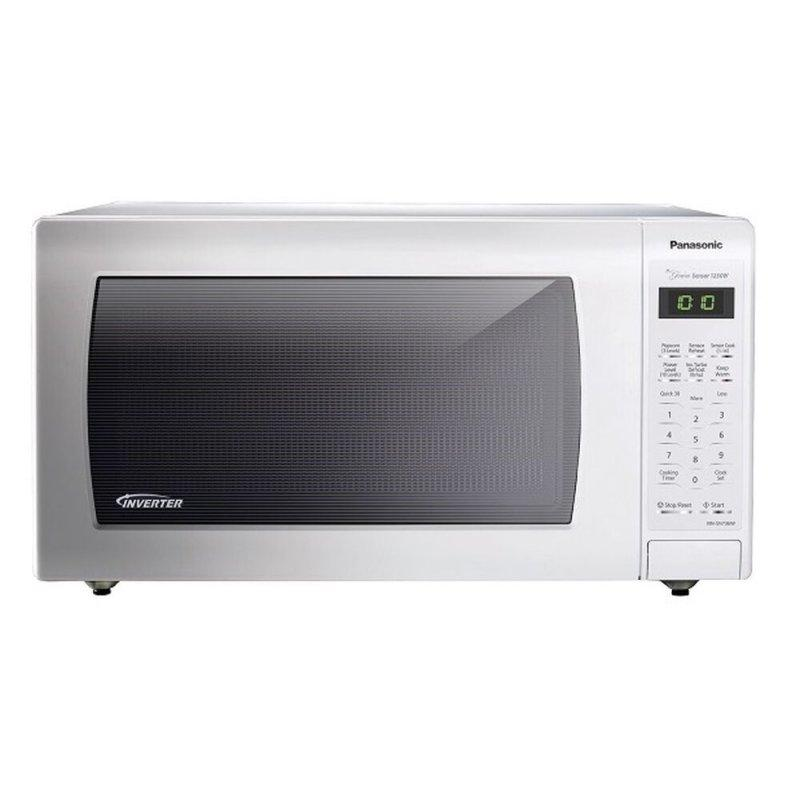 1.6 Cu. Ft. Countertop Microwave Oven with Inverter Technology - White - NN-SN763W