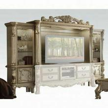 ACME Dresden Entertainment Center - 91330 - Gold Patina & Bone
