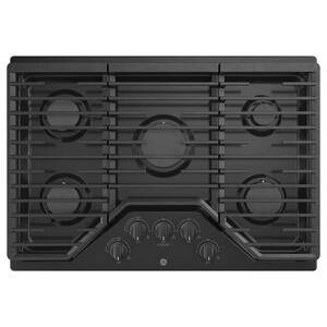 "GE® 30"" Built-In Gas Cooktop with 5 Burners and Dishwasher Safe Grates Product Image"
