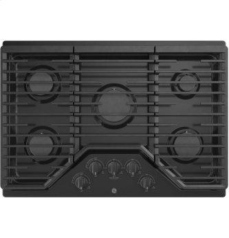 """GE™ 30"""" Built-In Gas Cooktop with 5 Burners and Dishwasher Safe Grates"""