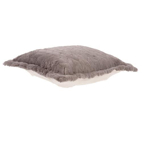 Howard Elliott - Puff Ottoman Cushion Angora Stone (Cushion and Cover Only)