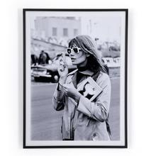 """30""""x40"""" Size Fran oise Hardy By Getty Images"""