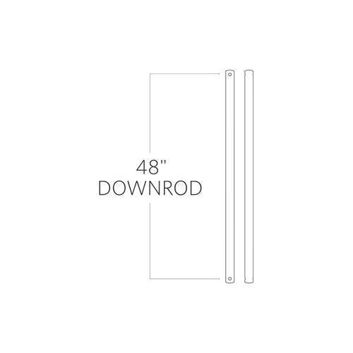 "48"" Downrod - Satin Nickel"