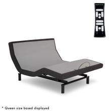 See Details - S-Cape 2.0 PT Adjustable Bed Base with Wallhugger Technology and Automatic Pillow Tilt, Charcoal Gray Finish, Queen
