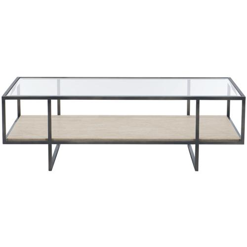 Harlow Metal Rectangular Cocktail Table