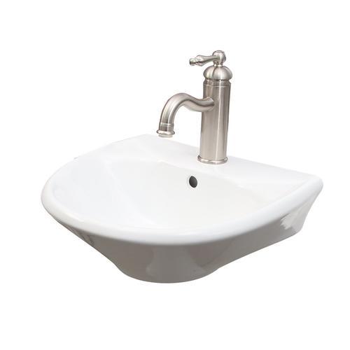 Product Image - Gair Wall-Hung Basin - Single-Hole