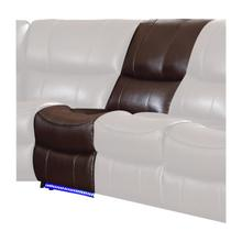 Power Armless Reclining Chair with LED