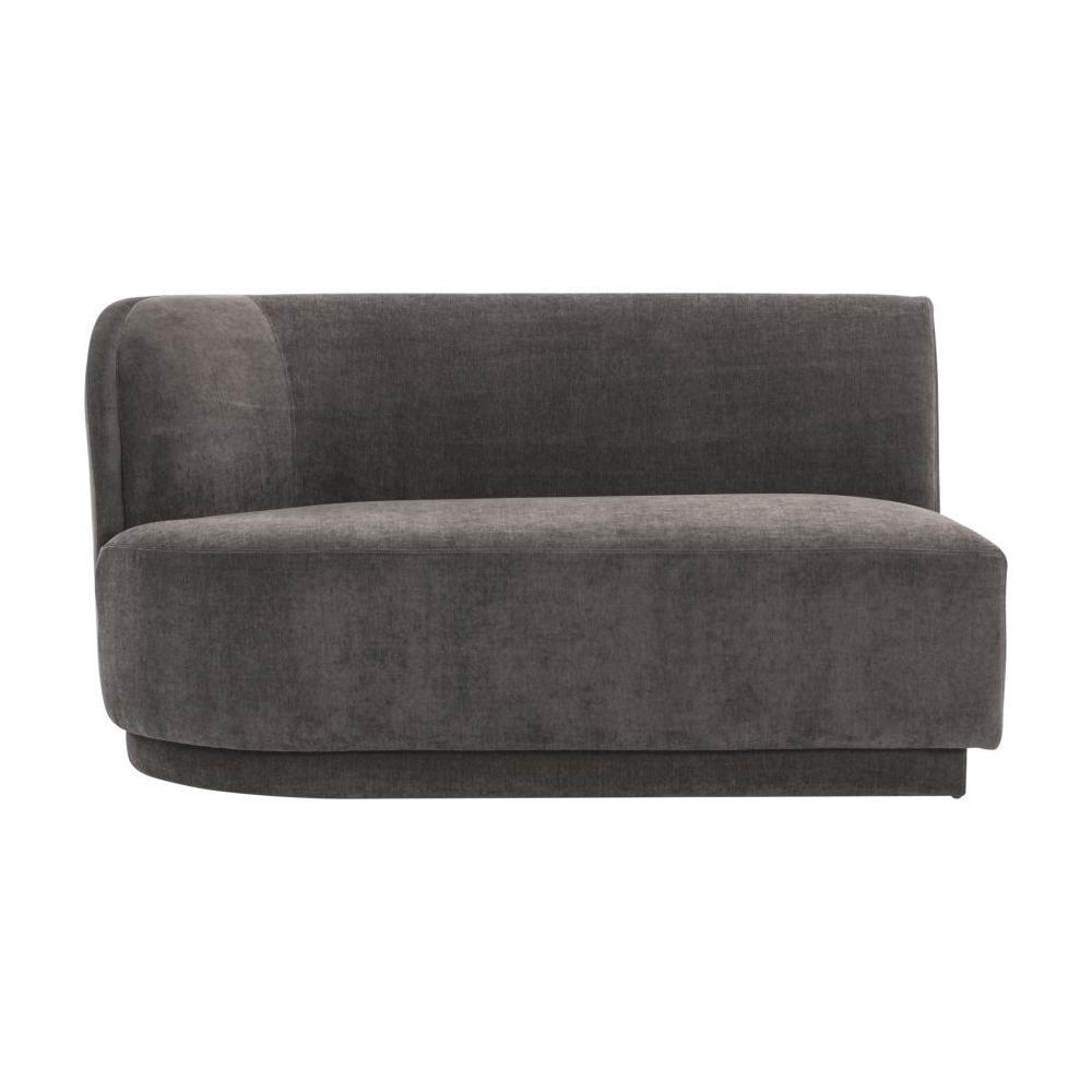 See Details - Yoon 2 Seat Chaise Left Anthracite