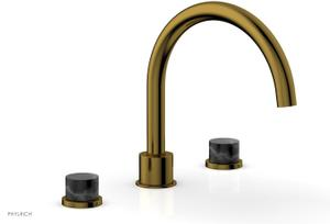 BASIC II Deck Tub Set 230-42 - French Brass Product Image