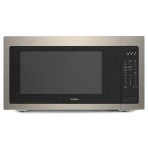 WHIRLPOOL2.2 cu. ft. Countertop Microwave with 1,200-Watt Cooking Power Fingerprint Resistant Sunset Bronze
