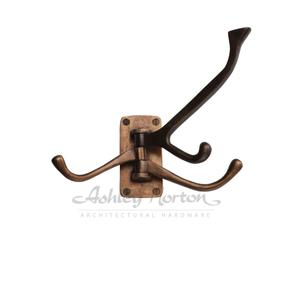 397 Hook Shown in light bronze patina Product Image