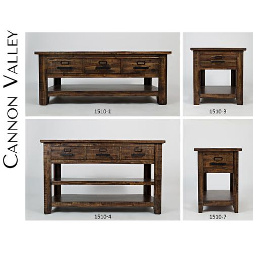 Cannon Valley Cocktail Table