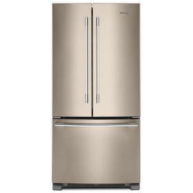 33-inch Wide French Door Refrigerator - 22 cu. ft. Fingerprint Resistant Sunset Bronze