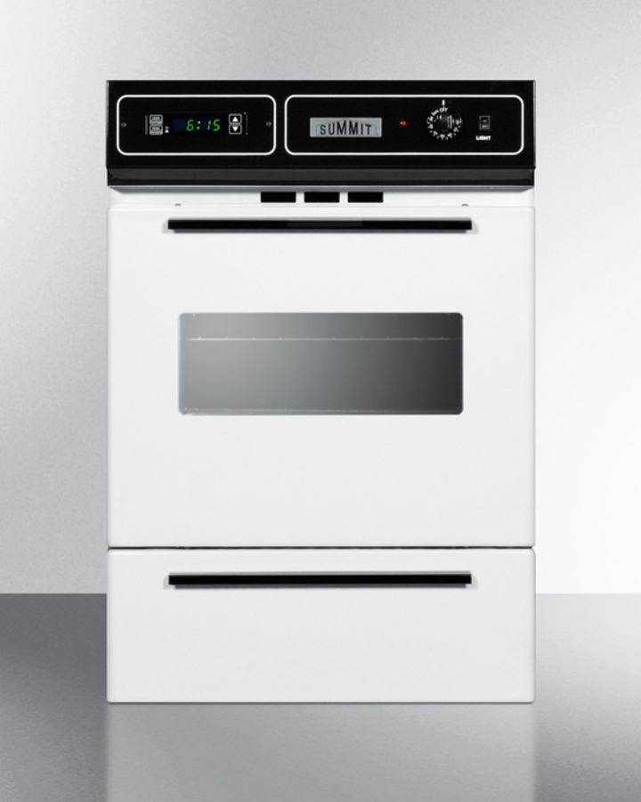 "Summit24"" Wide Gas Wall Oven"