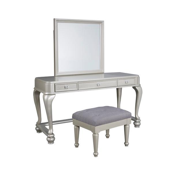See Details - Coralayne - Silver 3 Piece Bedroom Set