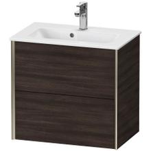 View Product - Vanity Unit Wall-mounted Compact, Chestnut Dark (decor)