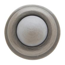 View Product - Antique Nickel Wall Flush Bumper