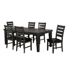 See Details - 7-piece Dining Set - Grey