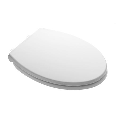 American Standard - Value Pack of Five: Luxury Toilet Round Front Toilet Seats with Slow-Close and Push Button Lift Off - White